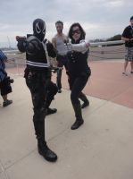 Agent Venom and The Winter Soldier by pa68
