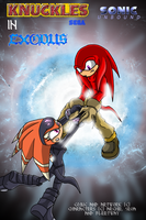 Knuckles-Exodus Cover by SonicUnbound
