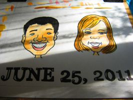 caricatures by LiTTLe-MaRi