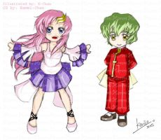 Collab - Lacus and Nicol by alphin