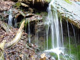 waterfall at Camp Klaus by thecymbalwench