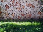 stone wall by Yavanna-stock