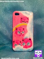 Jigglypuff I-phone 4 Cover by Iheartnella