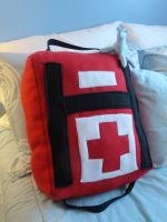 Left4Dead First-Aid Pillow by BlueLumi