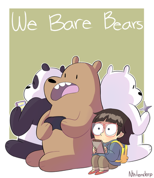 We Bare Bears by Nintenderp23