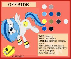 Ref sheet: Offside by flamingmarshmallows