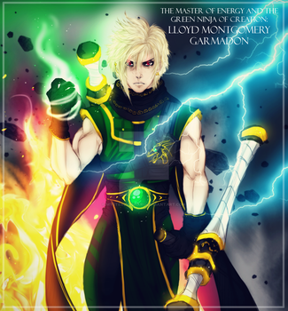 The Master of Energy: Lloyd Garmadon by mysteriousharu