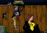 April and Zombies by ramova