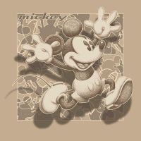 Mickey Mouse Running by stlcrazy