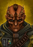 Siger Krev - Sketch Card by blue-but-beautiful
