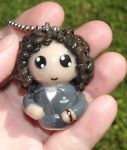 Ripley Polymer Clay Chibi Charm/Ornament by ShadyDarkGirl