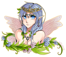 Solia Commission: Lady Iris by Lollyst