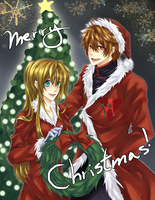 Merry Christmas 09 by FadingColors