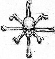 Skull and Crossbones by mechanicaljack