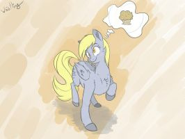 Thinking Derpily by Whibbleton