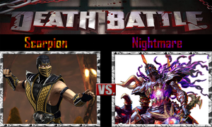 Scorpion vs Nightmare by SonicPal