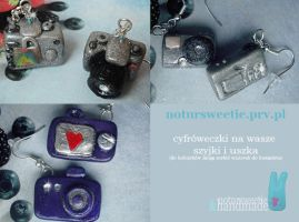 Digital camera charms by notursweetie