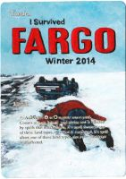 Magic the Gathering Alteration: Fargo Tundra by Ondal-the-Fool