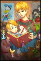 APH: Neverending Story by momofukuu