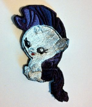 Baby Rarity Embroidered Patch by ravenlady13