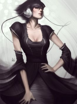 Pepper Vogue by Artgerm
