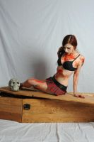 Stock girl with coffin by CradleOfDoll