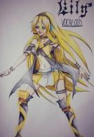 Lily - Vocaloid by 0Eka0