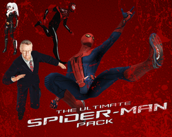 The Ultimate Spider-Man Pack (XNALara) by LEMOnz07