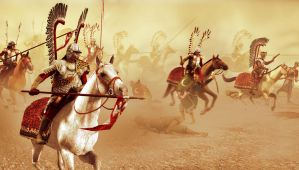 The Charge of the Winged Hussars by caastel