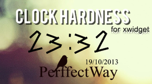 HardnessClock For Xwidget by PerffectWay