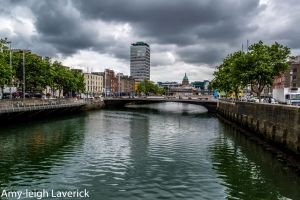 Dublin Friday Liffey East by Amy-the-Faerie