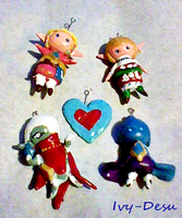 Skyward sword charms by Ivy-Desu