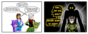 Halloween 2014 Part 6: Coming Prepared by NoelTheChristmasCat