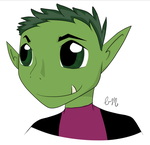 Beast Boy by InkTheWolf