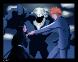 Bleach - Ichigo and Rukia by Tice83