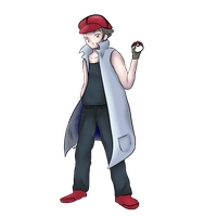 Pokemon Trainer colab - Noland by ceatureofthenight80
