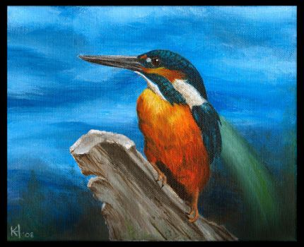 Kingfisher by Deathscent