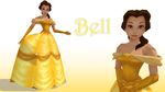 MMD Bell by KingdomHeartsNickey