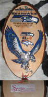 Seahawks Plaque by Snazzie-Designz by Leathurkatt-TFTiggy