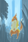 Forest Drizzel by QuietCrystal