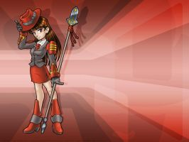 Linux-tan fanart: Red Hat by juzo-kun