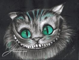 Cheshire Cat by RoxaneLys