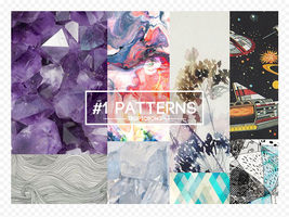#1 PACK  [ patterns / motivos ] by tropicsong