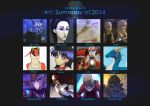Art Summary of 2014 by Lady-Owl