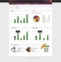 Dashboard Page Design by boe-snailer