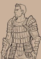 Alistair Sketch by Psamophis
