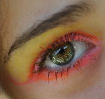 Clown Eye Stock 10 by Capoodra-StockImages