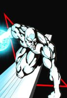 the Silver surfer by jordy