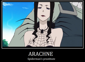 Arachne demotivational poster by UltimateAmien