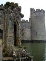 Bodiam Castle England VI by babsartcreations